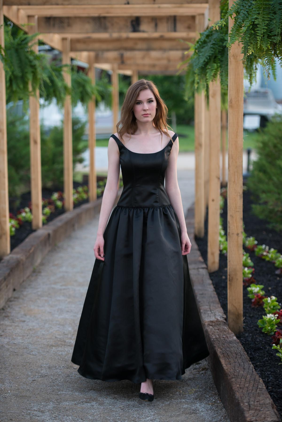 Anna B Couture Black Ball Gown - AnnaB Inc. : AnnaB Inc.